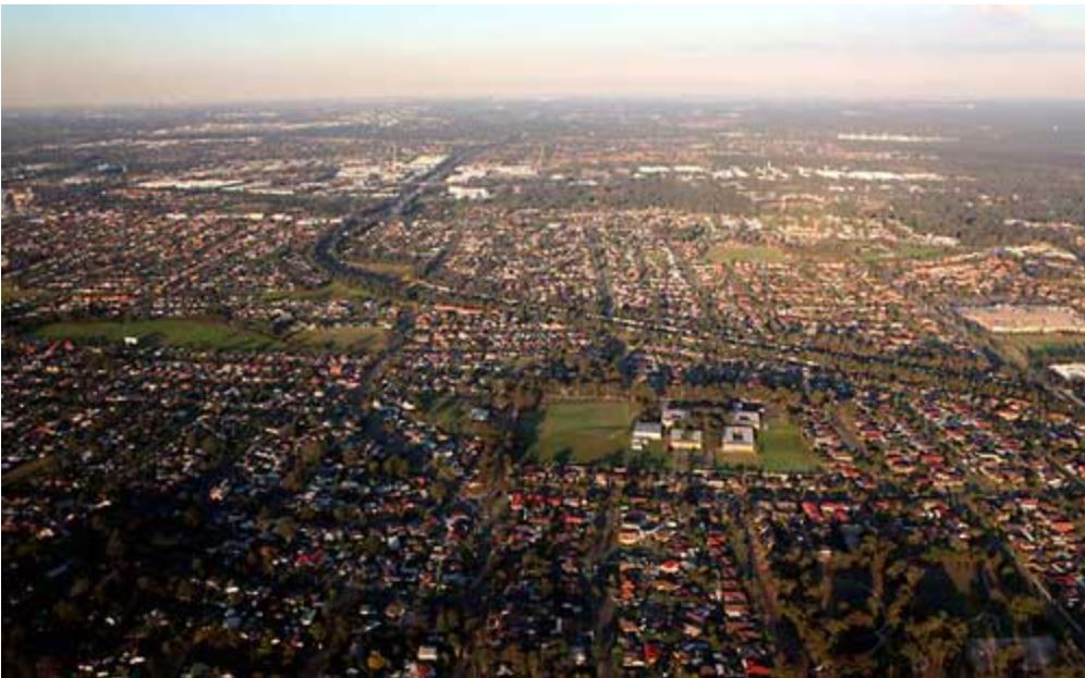 western sydney landscape